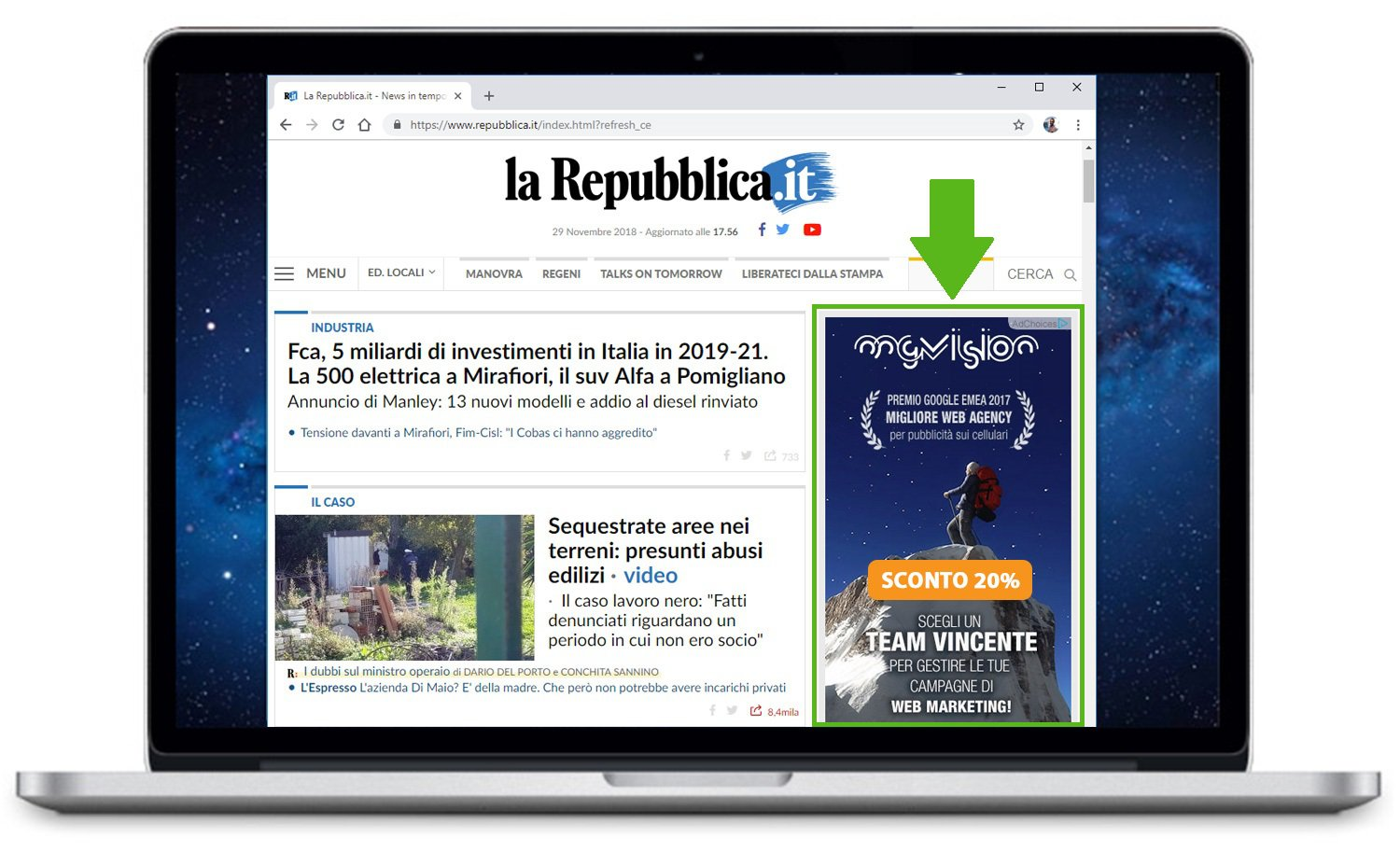 Campagne di remarketing